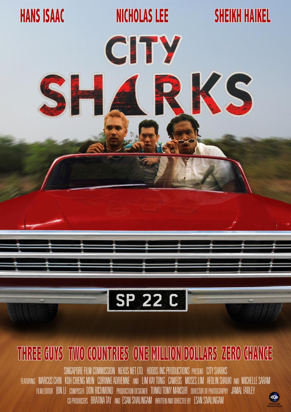 City Sharks Poster 2