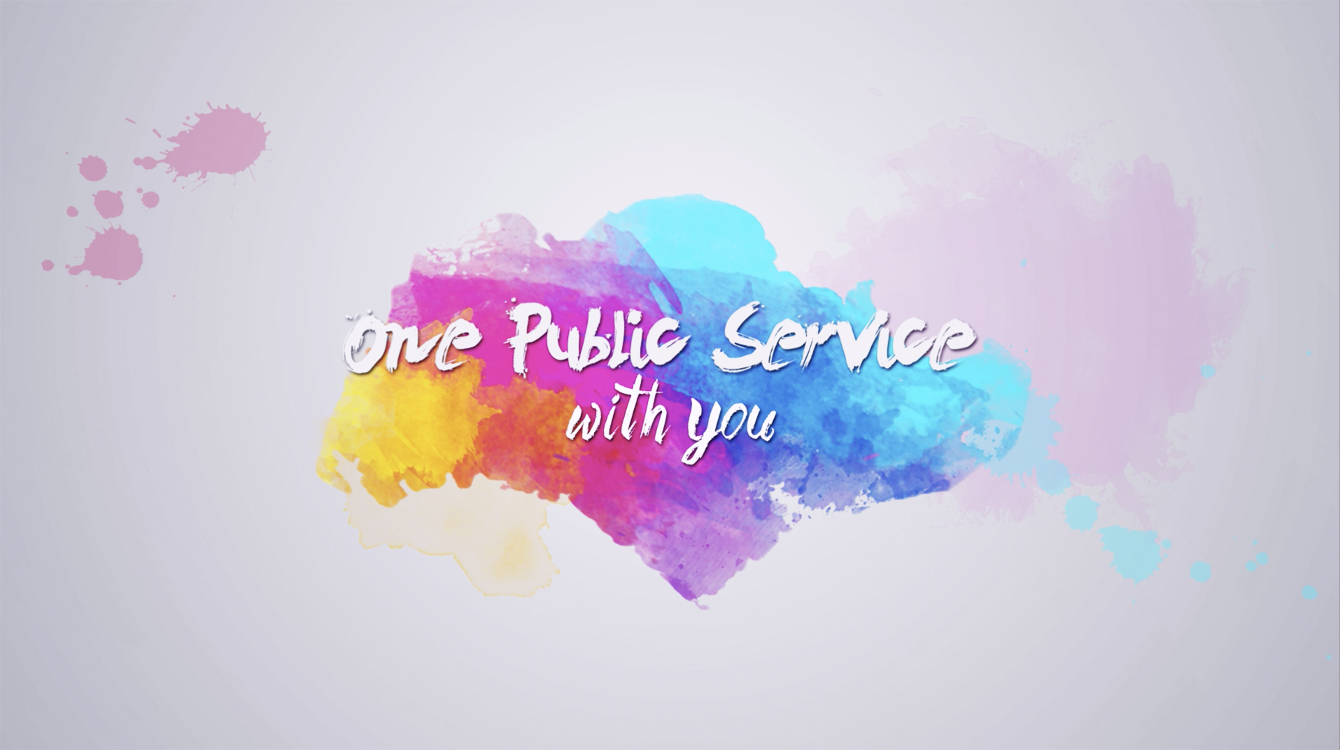 One Public Service With You