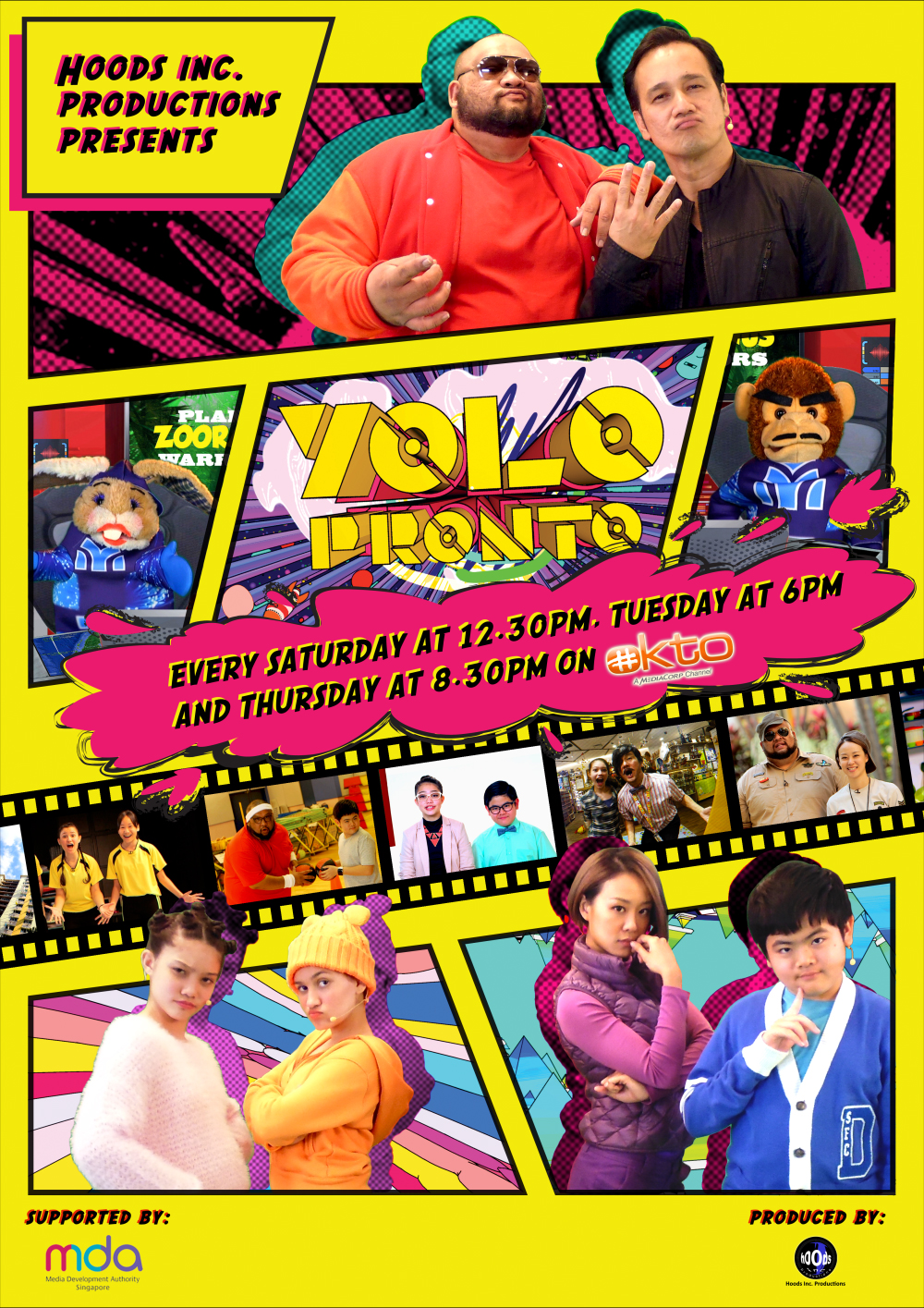 Yolo Pronto poster