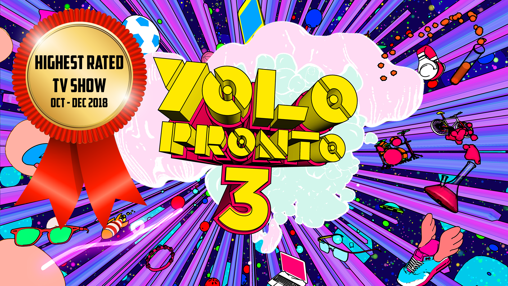Yolo Pronto 3 highest rated tv show