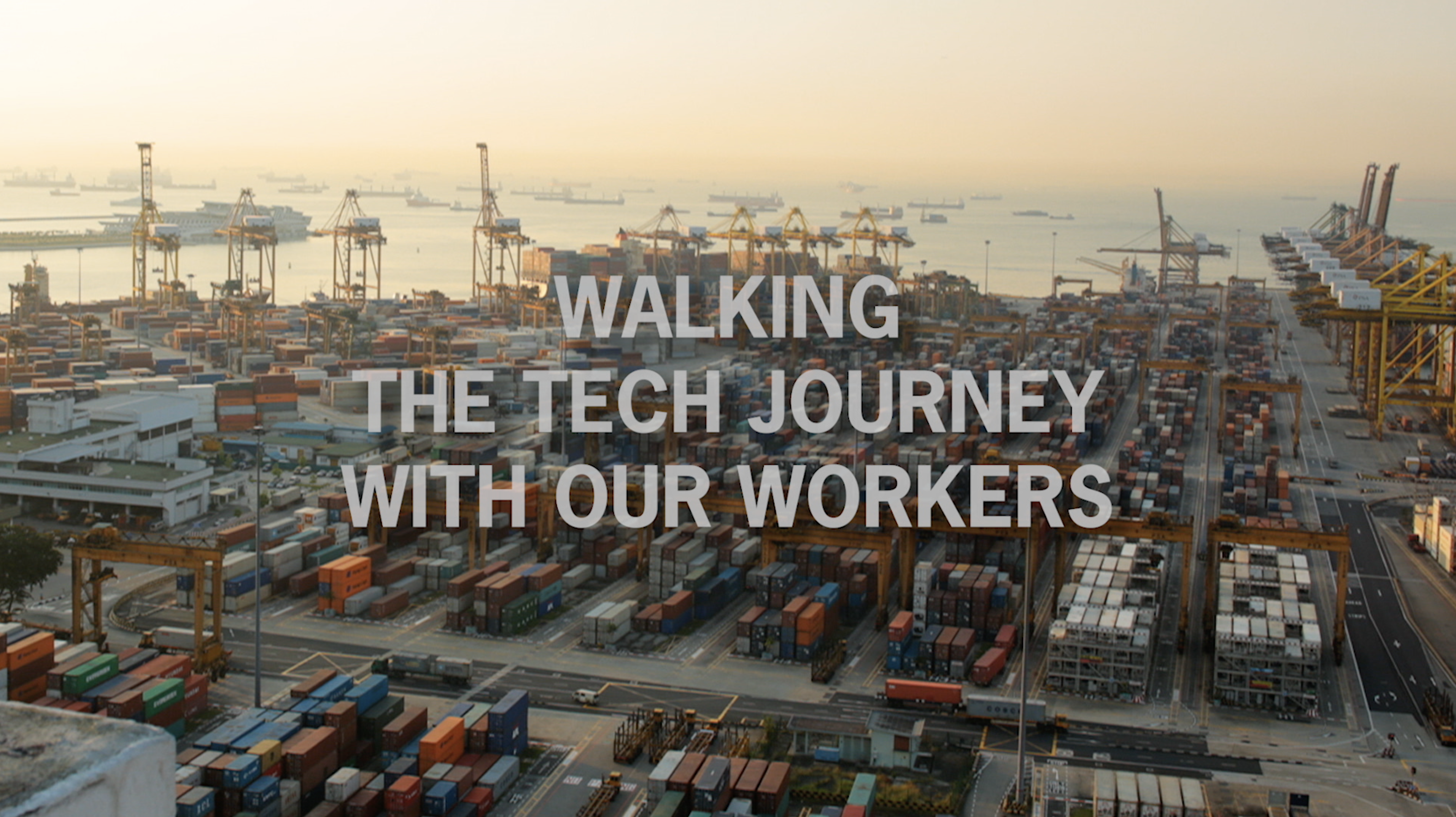 Walking The Tech Journey With Our Workers